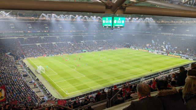 Pokal Viertelfinale gegen Schalke04 am 03.03.2020
